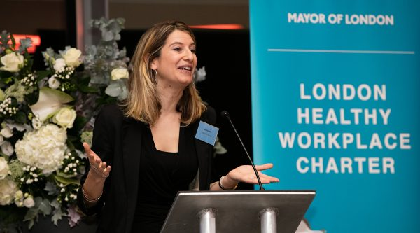 London Healthy Workplace Charter event presentation