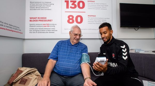 Be Sure of your Blood Pressure – visit our free roadshow