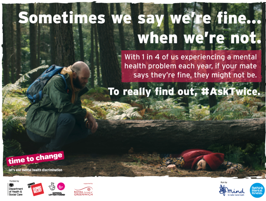 'Ask Twice' this World Mental Health Day