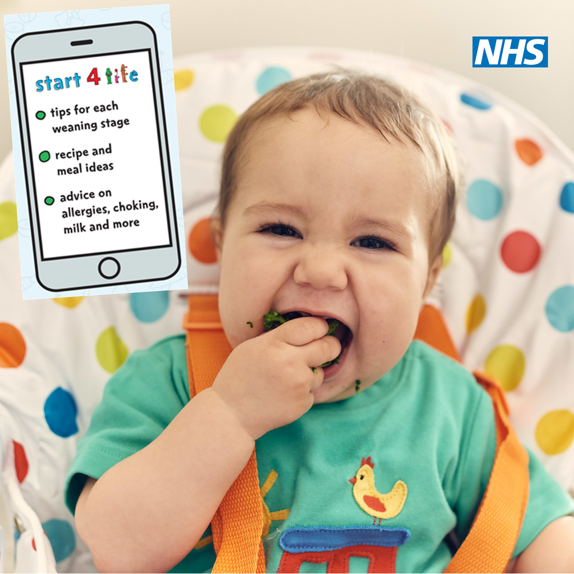 New Start4Life digital tools help make healthy weaning easy