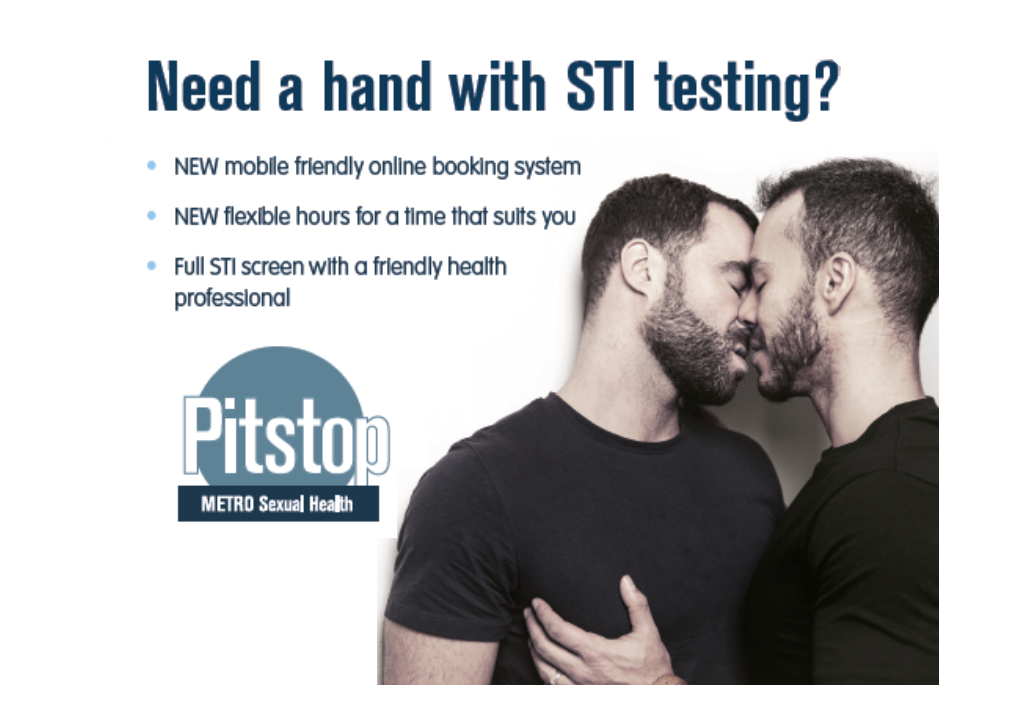 Book a sexual health test online with Metro's new system