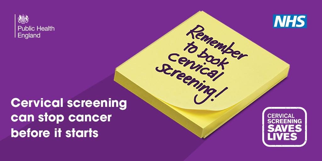 New 'Cervical Screening Saves Lives' campaign